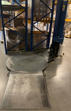 pallet strech wrapping system A316L Pe ME Matco