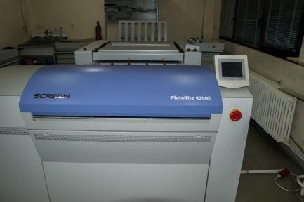 Platerite PTR 4300 E Screen