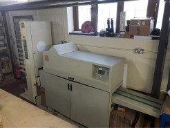 stitching line with collator